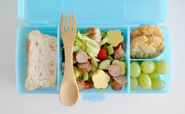 Lunchbox Kinder gesunde Ernährung Fingerfoods Häppchen