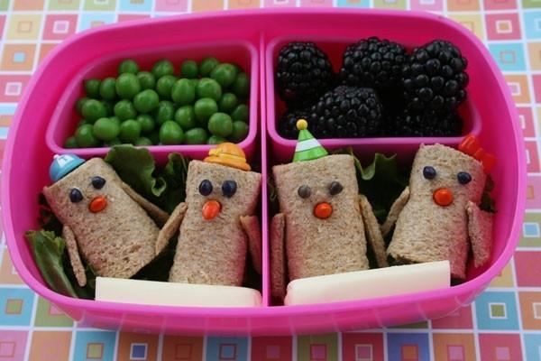 Lunchbox Kinder gesunde Ernährung Fingerfoods Ideen