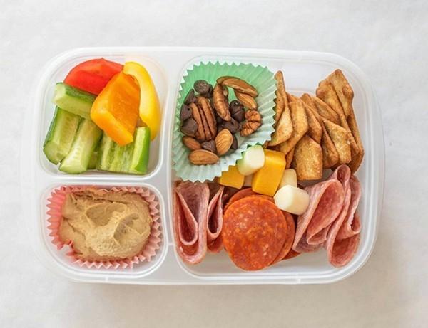 Lunchbox Kinder gesunde Ernährung Ideen Kindergarten