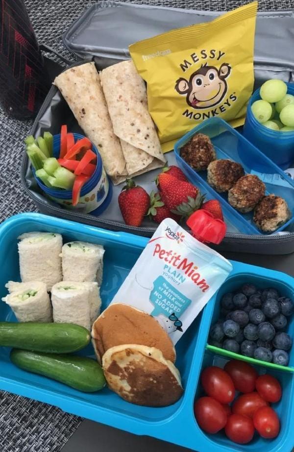 Lunchbox Kinder gesunde Ernährung Mittagsbox Fingerfoods