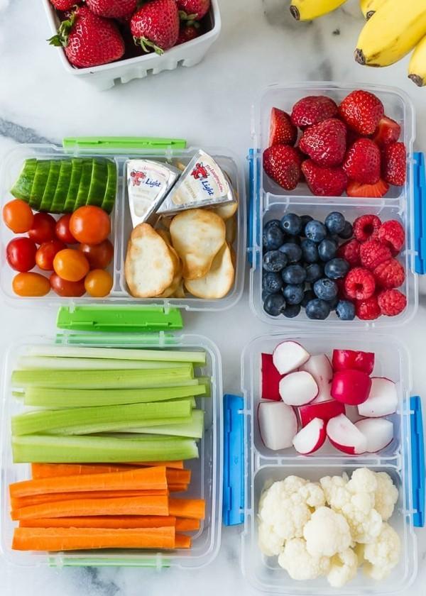 Lunchbox Kinder gesunde Ernährung Mittagsbox Ideen