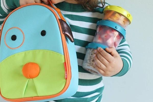 Lunchbox Kinder gesunde Ernährung Mittagsbox Rücksack