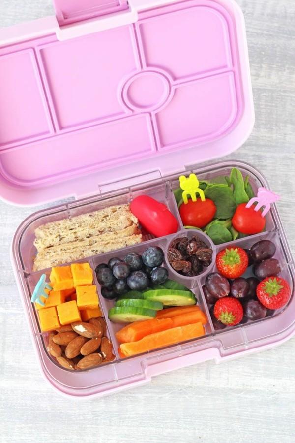 Lunchbox Kinder mit Unterteilung ausgewogene Ernährung