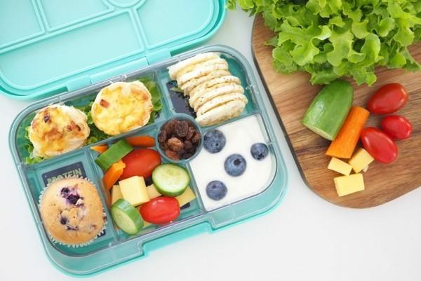 Lunchbox Kinder mit Unterteilung gesunde Mittagsbox