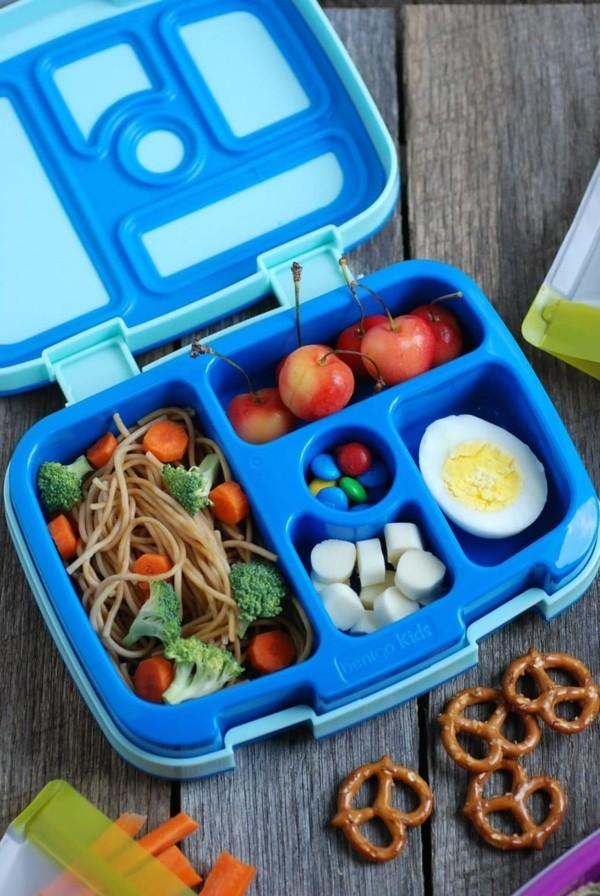Lunchbox Kinder mit Unterteilung gesunde ausgewogene Ernährung