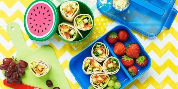 Lunchbox Rezepte Kindergarten Mittagsbox gesundes Mittagsessen