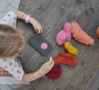 Nassfilzen lernen – Tipps und über 50 Bastelideen für Filzen mit Kindern