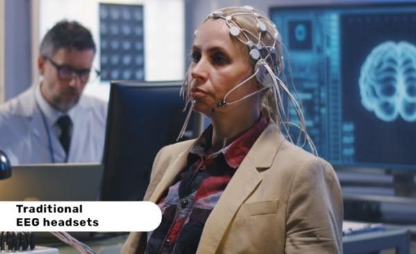Ohrhörer FocusBuds trainieren Ihr Gehirn und verbessern den Fokus eeg headsets traditionell