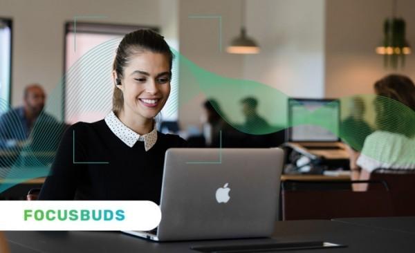 Ohrhörer FocusBuds trainieren Ihr Gehirn und verbessern den Fokus kopfhörer für bessere produktivität
