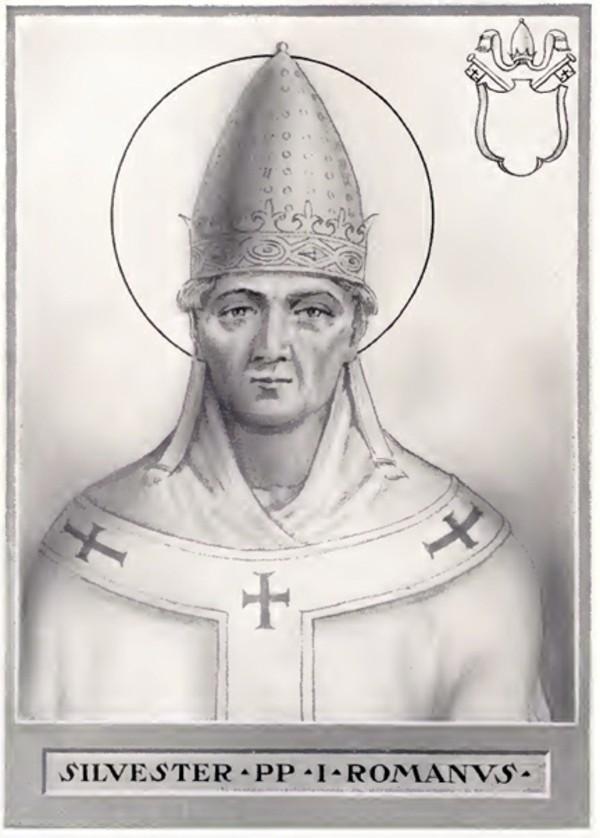 Papst Silvester I Woher stammt der Name Silvester