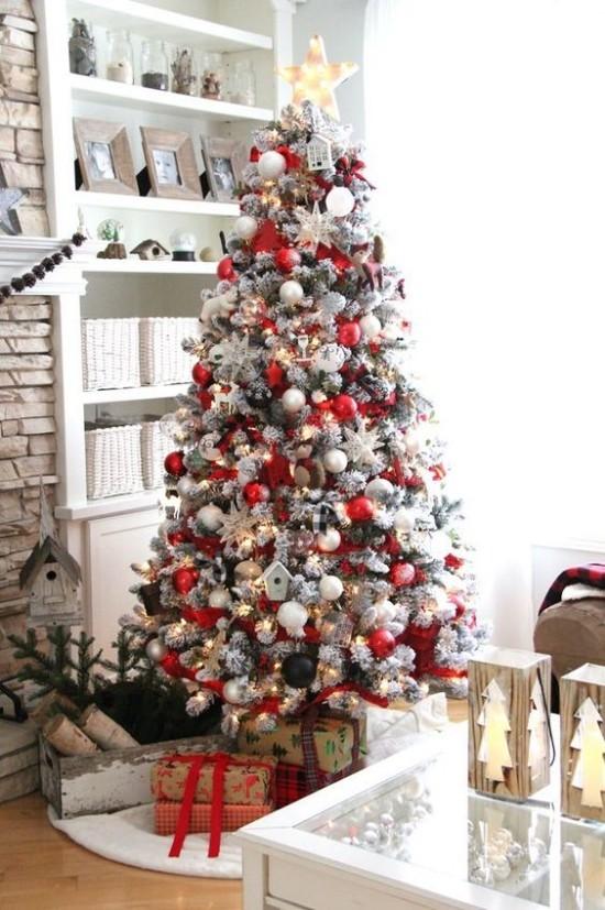 Rote Weihnachtsdeko Ideen