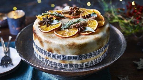So eine tolle Torte Kuchendeko weihnachten
