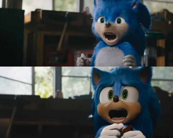 Sonic the Hedgehog sieht nach Redesign endlich wie sich selbst alt und neu seite bei seite