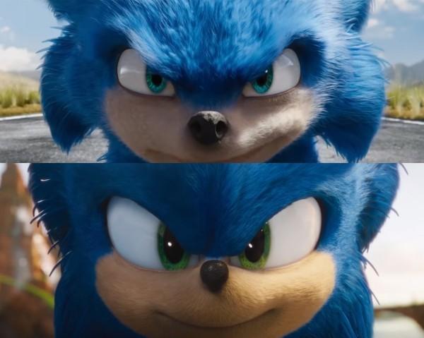 Sonic the Hedgehog sieht nach Redesign endlich wie sich selbst vergleich gesicht und fell
