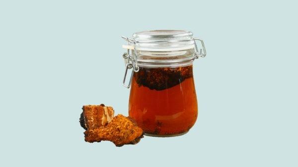 Tee kochen - Super food Ideen Chaga Tee