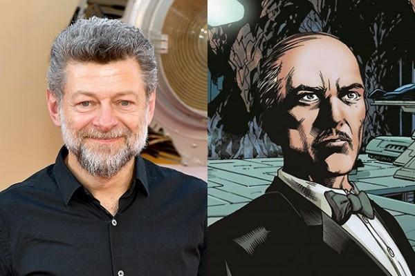The Batman Alles, was wir über den neuen DC-Film wissen Andy Serkis Alfred
