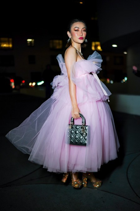 Tolles weißes Kleid Jessica Wang