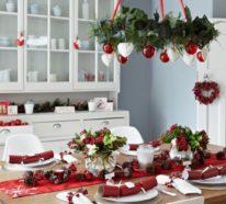 Jetzt wird's festlich mit großartigen Weihnachtsdeko Ideen in Rot und Weiß!