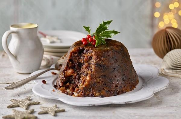 Weihnachtssüßigkeiten rund um die Welt Christmas Pudding