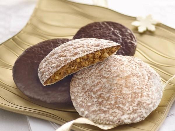 Weihnachtssüßigkeiten rund um die Welt Deutschland Lebkuchen Gingerbread