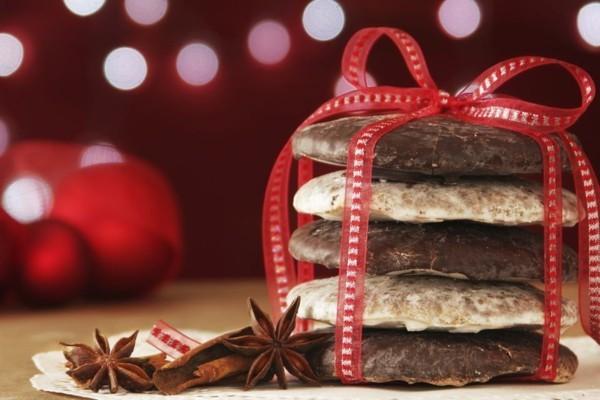 Weihnachtssüßigkeiten rund um die Welt Deutschland Lebkuchen mit Glasur