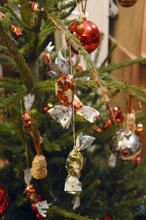 Weihnachtssüßigkeiten rund um die Welt Szaloncukor Weihnachtsbaum