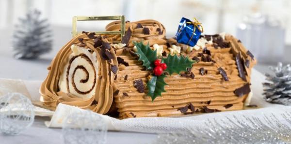 Weihnachtssüßigkeiten rund um die Welt buche de noel a la creme au beurre