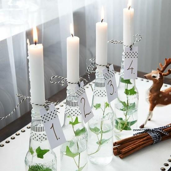 außergewöhnliche adventskränze skandinavische weihnachtsdeko