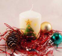 80 aktuelle Kerzendeko Ideen für Weihnachten 2019