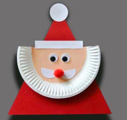 Basteln Mit Papptellern Zu Weihnachten 39 Einfache