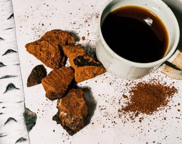 gesund essen gesund leben Chaga Tee