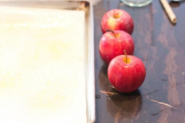 kandierte Äpfel Rezept Schritt für Schritt Weihnachtssüßigkeiten