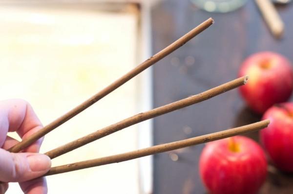 kandierte Äpfel Rezept Weihnachtssüßigkeiten