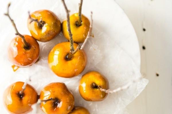 kandierte Äpfel Rezeptideen Weihnachtssüßigkeiten