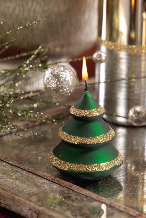 kerzen weihnachten deko ideen baum