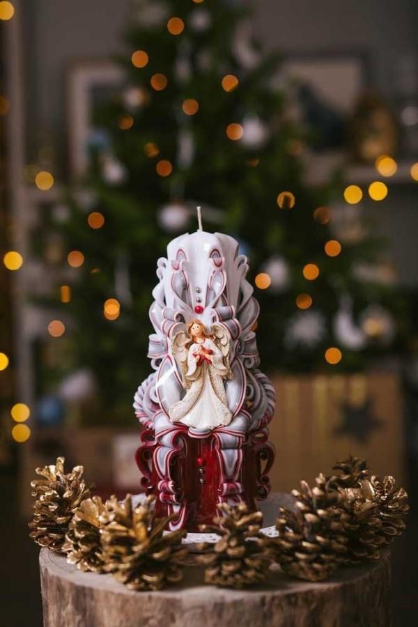 kerzen weihnachten traditionelle deko inspiration