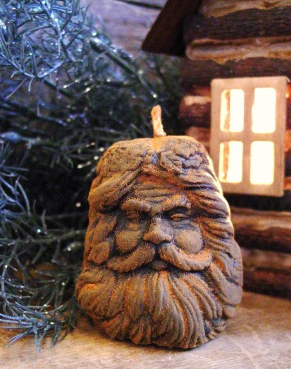 originelle deko tannenbaum kerzen weihnachten
