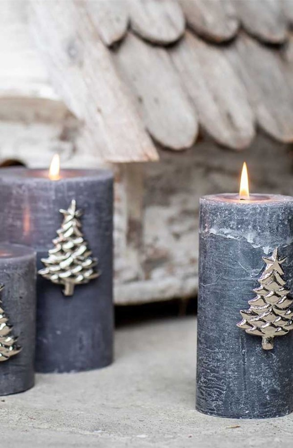 originelle kerzen weihnachten kerzen
