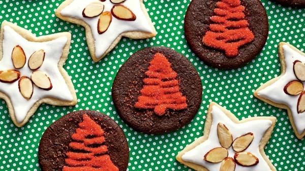 originelle plätzchen dekorieren zu weihnachten