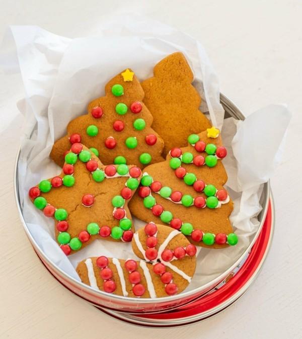 plätzchen dekorieren zu weihnachten