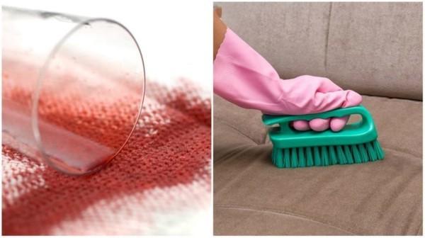 rotwein entfernen teppich rotweinflecken entfernen