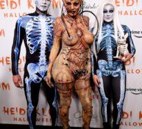 Das Kostüm von Heidi Klum 2019 war wieder mal ein Kunstwerk