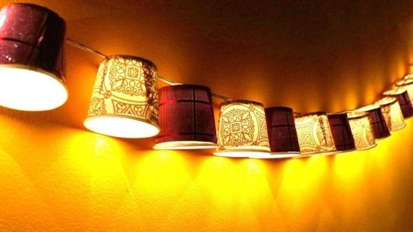 φώτα νεράιδα ατμόσφαιρας φτιάχνουν δώρο εγκαίνια