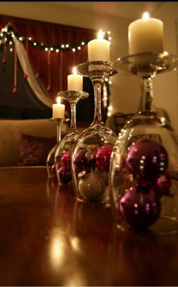 tolle Kugeln im Glas weihnachten deko