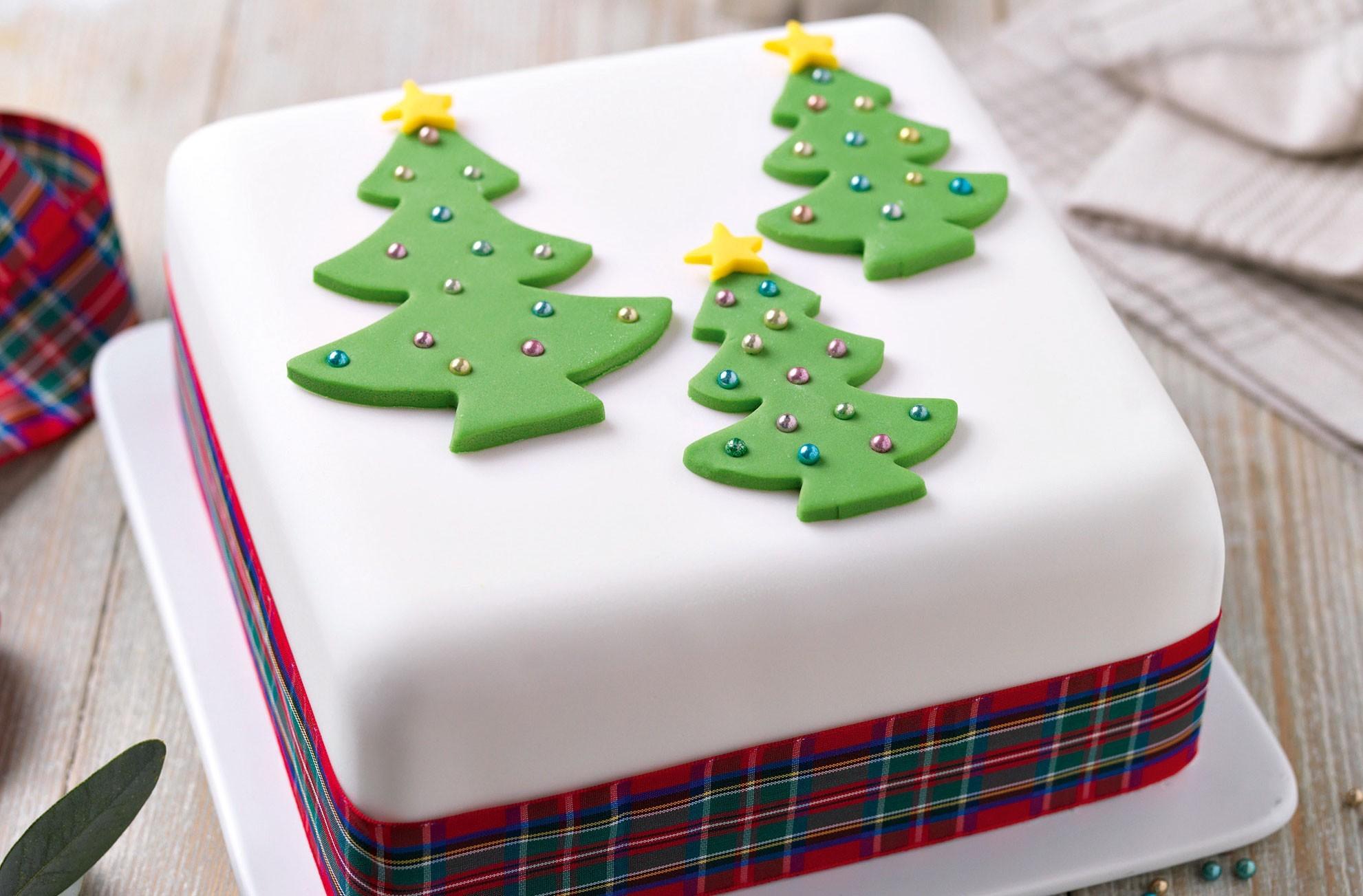 tolle idee kuchen weihnachten