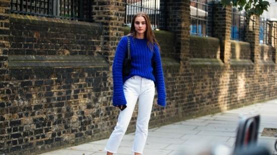 weiße jeans damen jeans trends 2019