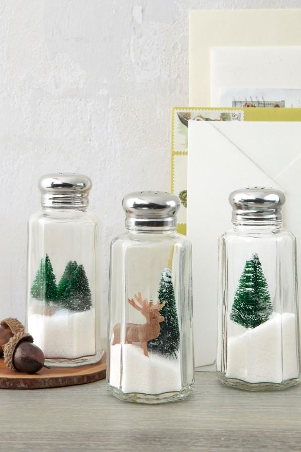 weihnachten deko glas ideen dekoration
