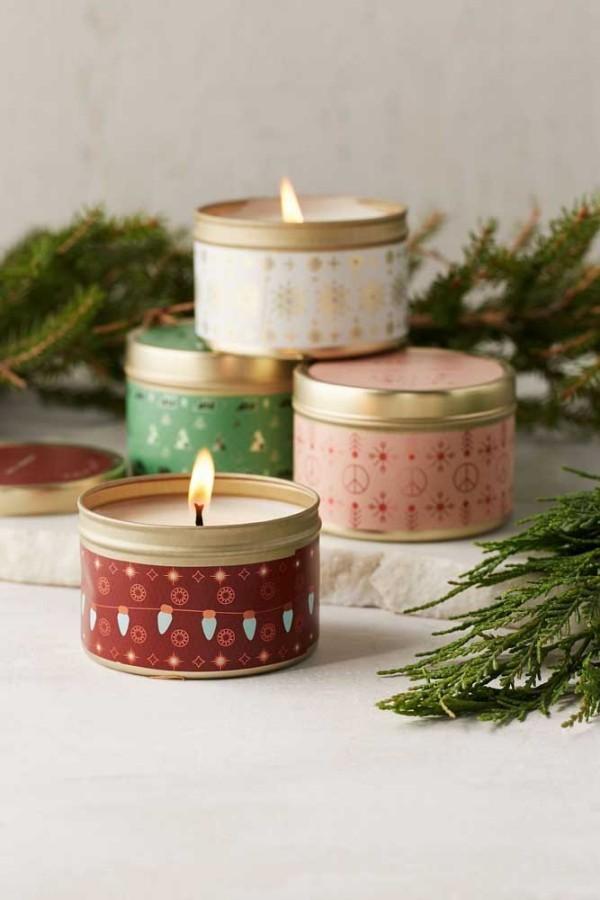 weihnachten kerzen bunte deko für weihnachten