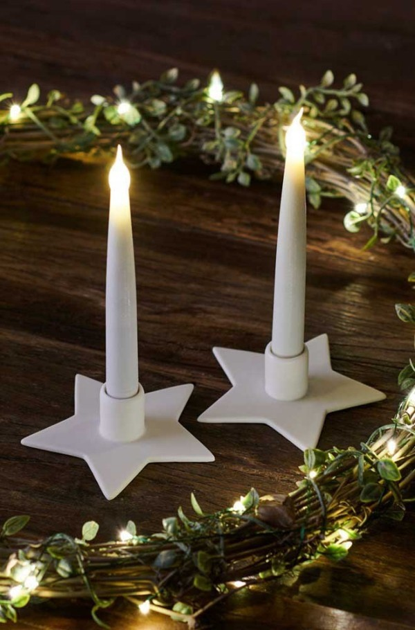 weihnachten kerzen dekoration weihnachtssterne