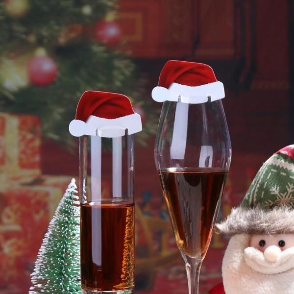 weinglas - dekoration für weihnachten weihnachten deko
